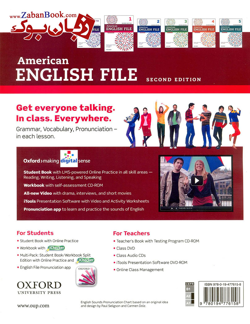 خرید کتاب American Egnlish File Level 1